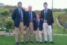 El equipo valenciano en el Interterritorial Pitch and Putt 2012
