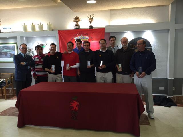 (Castellano) Antonio Llerena, ganador del Campeonato de Golf Adaptado de Castilla y León