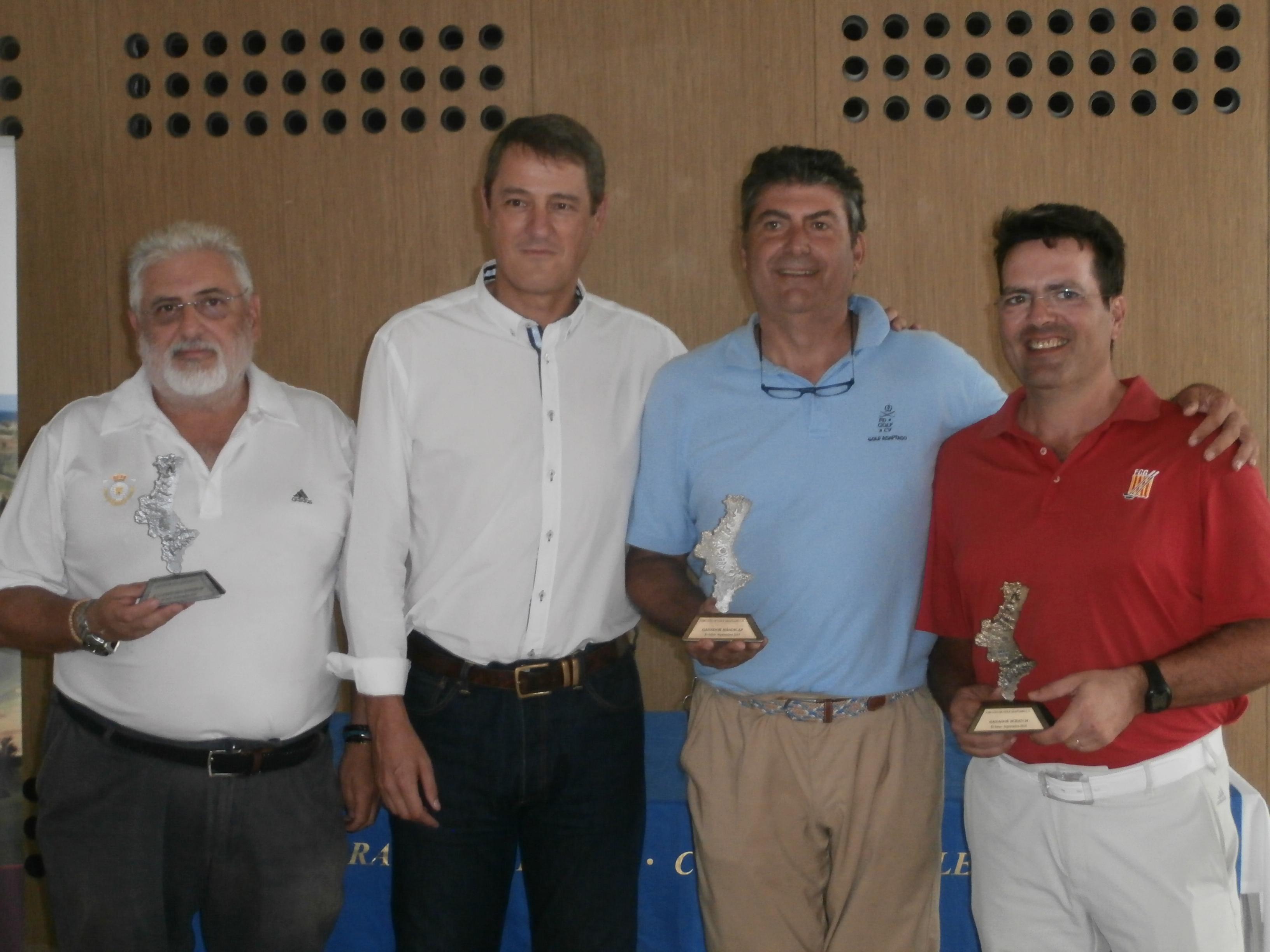 Circuito Yoingolf : El circuito de golf adaptado celebró su última prueba en el el saler