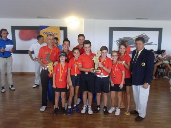 (Castellano) Costa de Azahar y El Saler se adjudican el III Campeonato Interescuelas C.V.