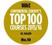 (Castellano) El Saler, nombrado por Golf World UK  10º mejor campo de Europa Continetal