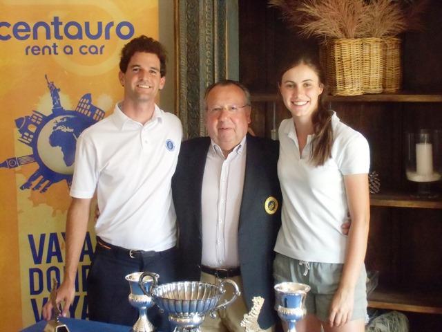 (Castellano) Rafa Culla y Patricia Garcia se adjudican la II Copa Match Play