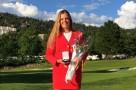 (Castellano) Marta Perez medalla de bronce en el Europeo Sub 18 Femenino por Equipos