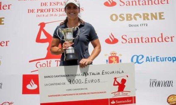 (Castellano) Natalia Escuriola bicampeona de España