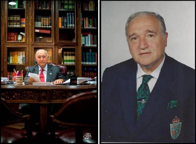 (Castellano) Fallece D. Francisco Amorós, quien presidió 4 años la Federación de Golf de la C.V.