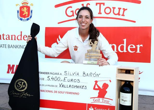 Silvia Bañon estrena su palmares profesional