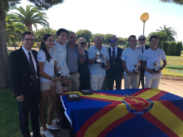 Club de Golf Escorpión, ganador del Campeonato de España Interclubes de Pitch & Putt 2017