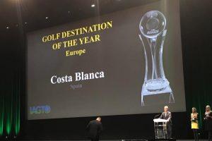 """Costa Blanca seleccionada como """"Destino europeo de golf del año"""" en los Premios IAGTO 2018"""