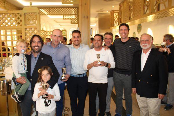 Persax y Escuela  Golf Elche Team ganadores del acumulado de la Copa Levante