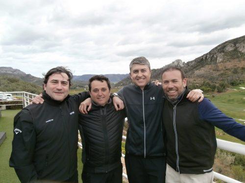 La Copa Levante comienza jugando contra el viento en La Galiana Golf