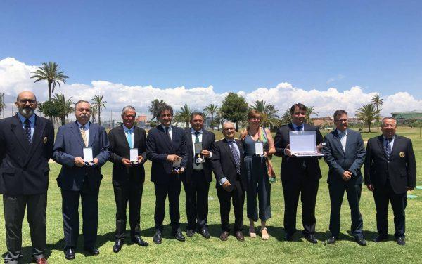 La Federación de Golf de la Comunidad Valenciana entrega la Placa y Medallas al Mérito en Golf