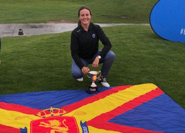 Claudia Salazar, Campeona de España de 2ª categoría