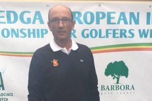 Top 15 de Antonio Llerena en el Cto de Europa de Golf Adaptado
