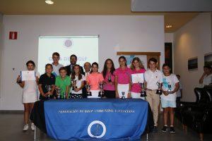 La F.G.C.V. celebra la Gala del Golf Juvenil en Panorámica Golf.