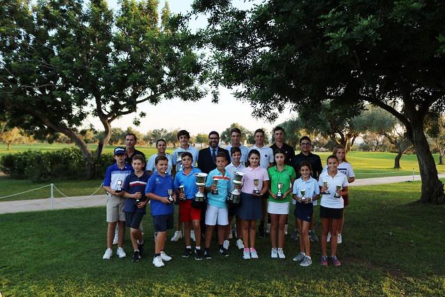 """Rotundo éxito en el """"XL Campeonato Juvenil C.V. (PVACE-BAIC)"""" en """"Panorámica Golf"""""""