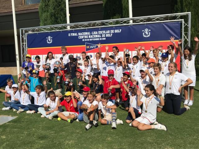 II Final Nacional de la Liga Escolar en el Centro Nacional.