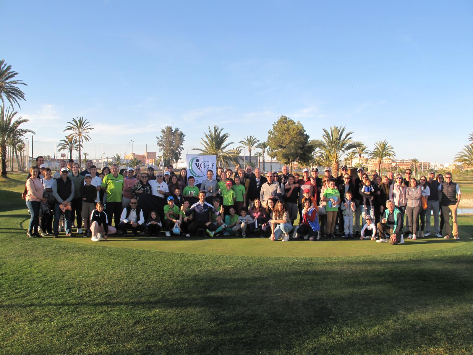 Exitoso 5º Aniversario de la Escuela de Golf de Elche