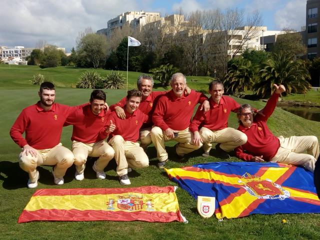 Tomy Artigas, fundamental en la victoria de España en el Match Internacional ante Portugal de Pitch & Putt