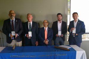 Gala de entrega de Medallas y Placas al Mérito en Golf de la FGCV en Alicante Golf