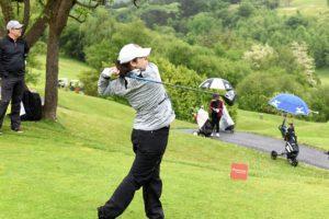 Tercer puesto para Natalia Escuriola en el Santander Golf Tour de Basozabal