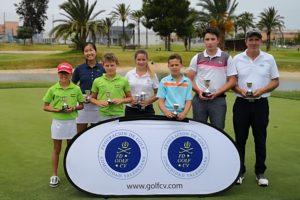 Los jóvenes golfistas triunfan en el Campeonato Absoluto de Pitch & Putt de la Comunidad Valenciana