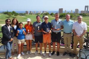 Villaitana recibe el Campeonato Masculino y Femenino de la Comunidad Valenciana de 2ª, 3ª, 4ª y 5ª Categoría