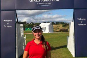 Carla Tejedo se queda en cuartos de final del British Girls 2019