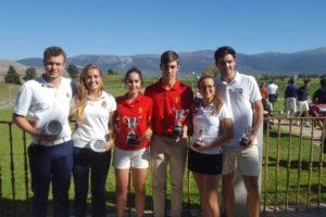 Josele Ballester y Carla Tejedo,  grandes estrellas en el Campeonato de España Dobles Mixto