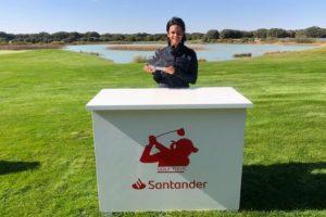 María Palacios se adjudica su primer triunfo en el Santander Golf Tour