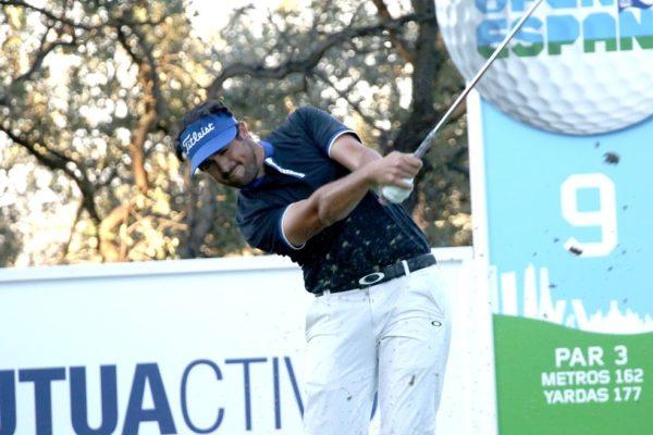 Samuel del Val, tercero en el Mutuactivos Open de España