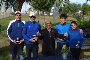 Los hermanos Bakri se hacen con el Campeonato Dobles de Pitch & Putt de la Comunidad Valenciana