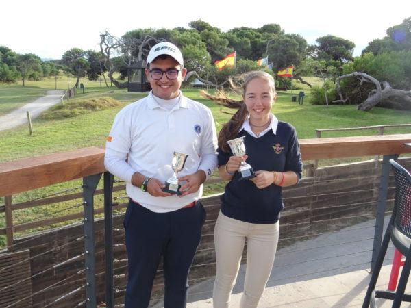 Andrea Miralles y Navid Mousavi, campeones Absolutos de la Comunidad Valenciana