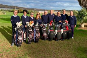 El Club de Golf Escorpión se impone en el Campeonato Interclubes Senior de la C.V.