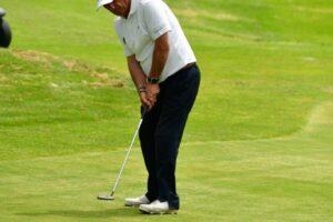 Antonio Llerena encabeza el Campeonato de España de Golf Adaptado