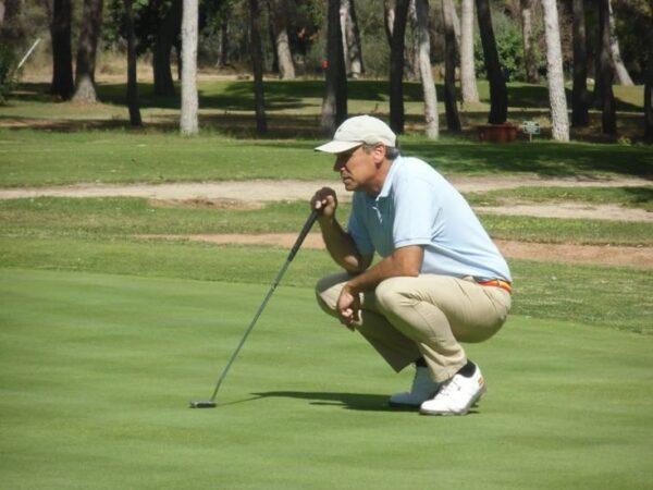 Jorge García, a la cabeza del campeonato de España Individual Senior