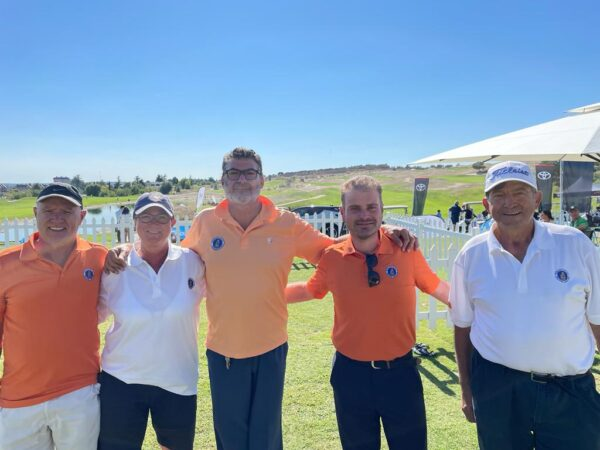 Antonio Llerena bronce en el Campeonato de Madrid de Golf Adaptado
