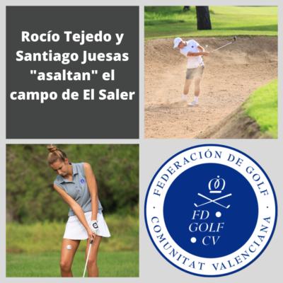 """Rocío Tejedo y Santiago Juesas """"asaltan"""" el campo de El Saler"""