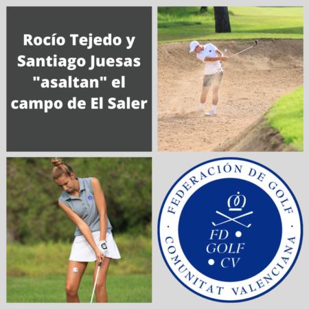 Rocío Tejedo y Santiago Juesas «asaltan» el campo de El Saler